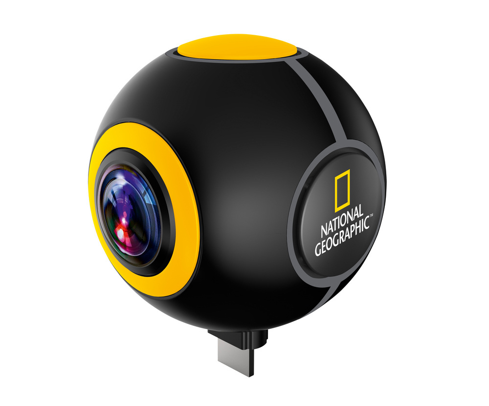 Kamera sportowa z systemem Android Bresser National Geographic HD 720°